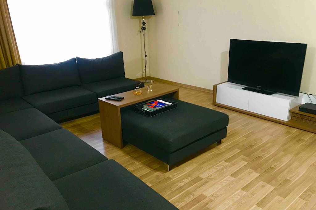 Living room whit TV
