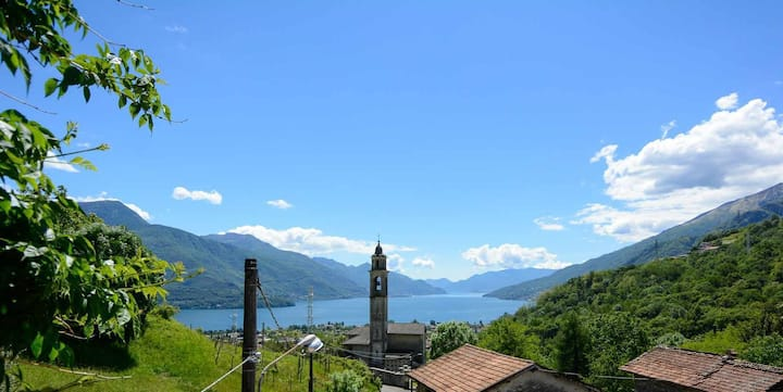 Casa Rina stunning view on Lake Como