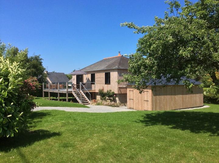Maison grand jardin-St Briac (3 chambres)