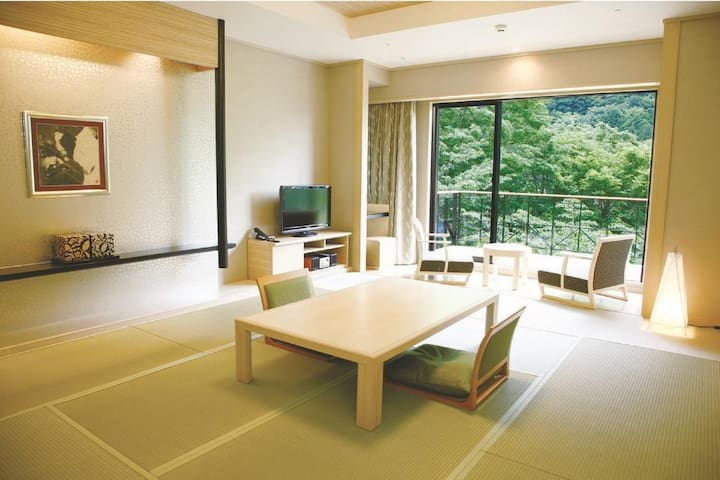HAKONE High quality inn Japanese style + Onsen【From 2 pax】【With meal】【朝食・夕食付】