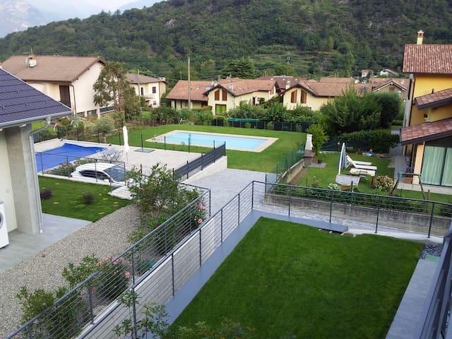 Brand new apartment LA BAIA with terrace & pool
