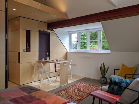 Browhill Loft - σύγχρονο, χειροποίητο στούντιο