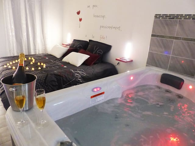 APPARTEMENT COSY AVEC JACUZZI PRIVATIF