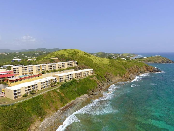 Amazing Caribbean Sea View Condo w/Cable and WIFI