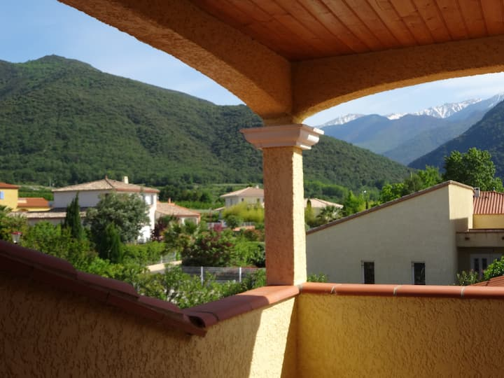 Villa nr Vinca in the foothills of the Pyrenees