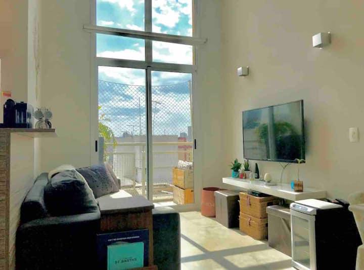 Sunny  Loft  Duplex in Itaim