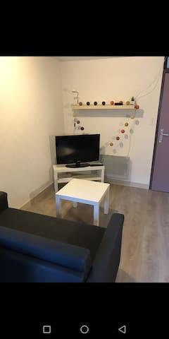 Charment studio dans le centre-ville de Rennes