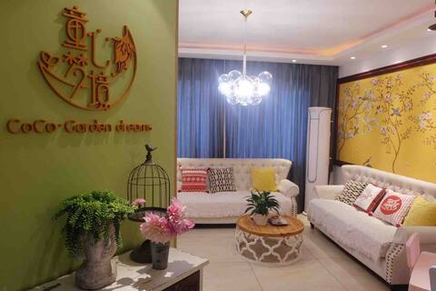 【童心梦境】杭州乐园边两室两厅一厨一卫整套亲子小家/近湘湖地铁站