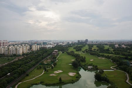 Full Golf view apartment at Jaypee Star Court - Greater Noida