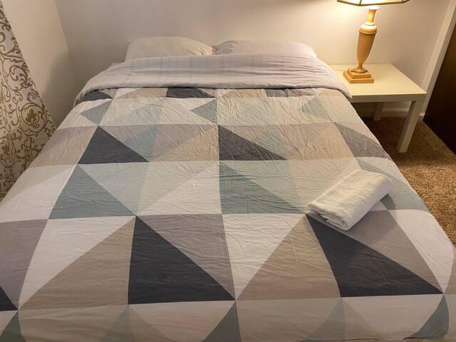 Cozy comfortable queen mattress