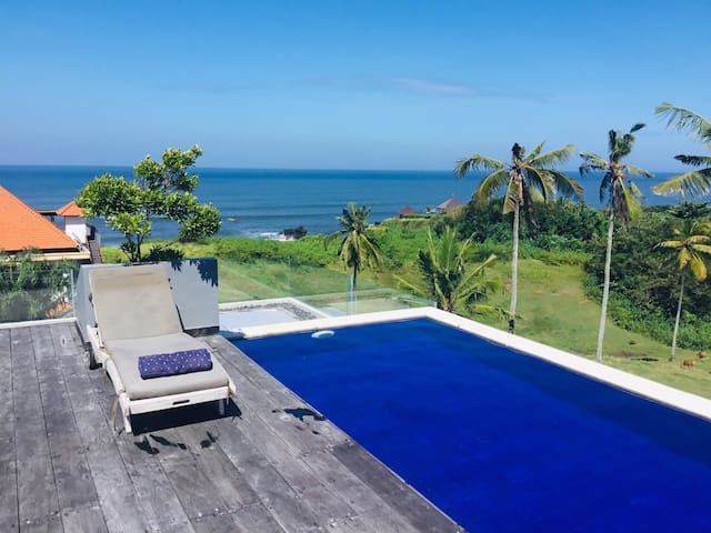 Ocean View Villa In Balian Beach - Villa Josephine
