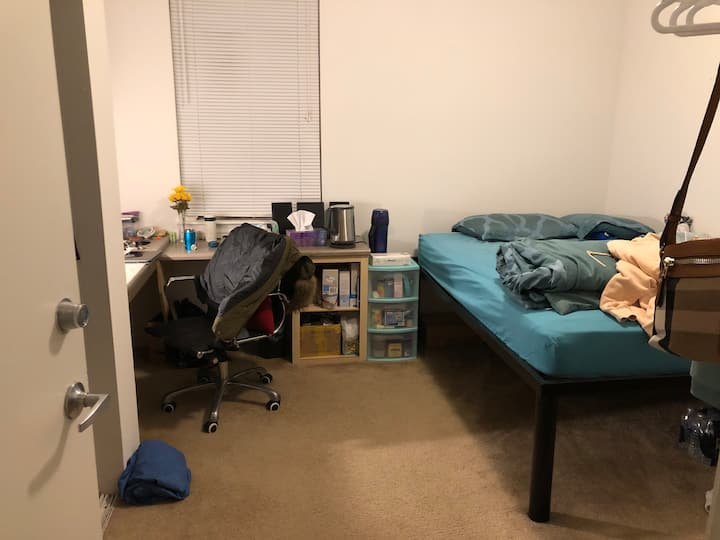 Short term sublet of a private room in apartment