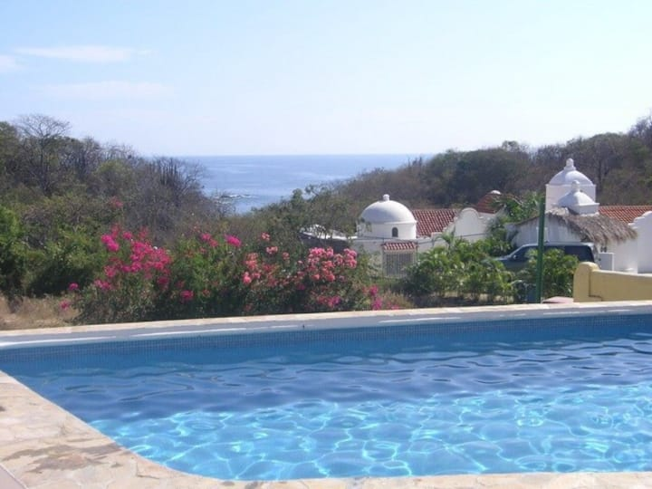 Best Value for OCEAN VIEW & BEACH in Huatulco!