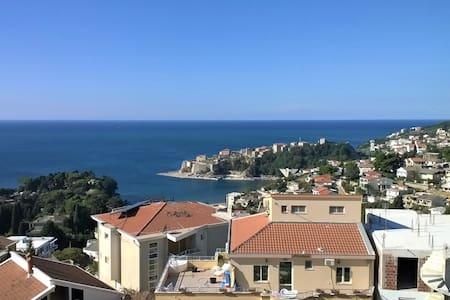 2 perfect sea view apartments + teraces - Ulcinj - Bungalow