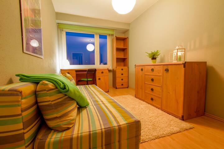 Piotrkowska - przytulny pokój dla pary lub singla - Łódź - Apartament