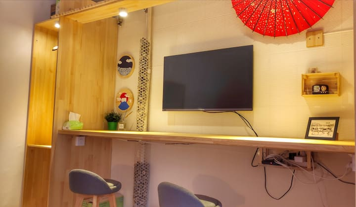 【小家碧玉】寒冬里温暖的家,温馨日式混搭风格独立住宅/开发区/会展/龙塔