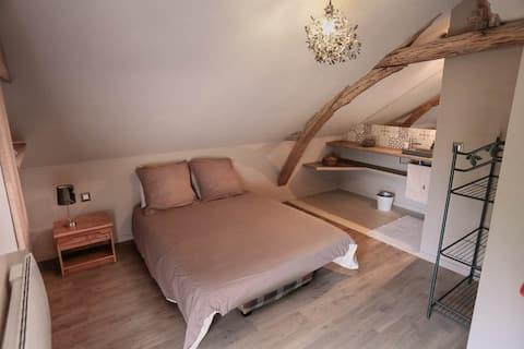 Chambre au coeur des vignes et proche de la Loire