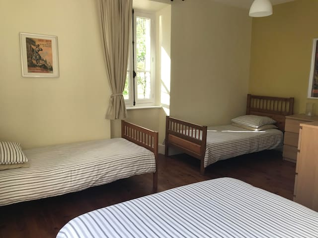 Bedroom Four Double bed Plus two single beds Max occupancy 4 Ensuite shower room (Shower, sink & WC)