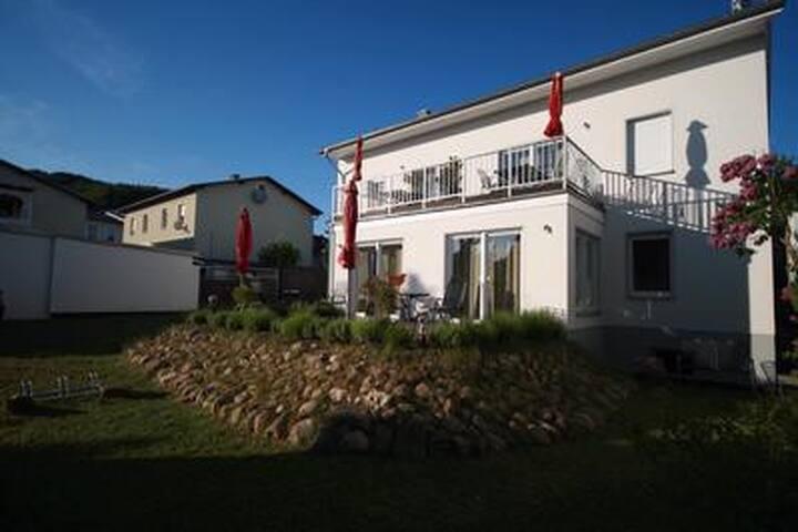 Ferienwohnung -Gorch Fock- im Haus Sandra in Sassnitz auf der Ostseeinsel Rügen