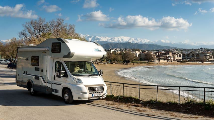 Infinite Crete on a Camper Van