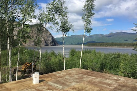 Alaska Yukon River Calico Bluff Yurt - Eagle