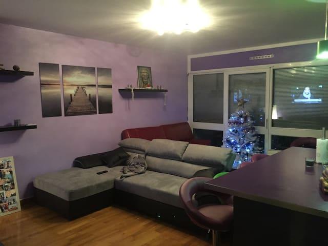Chambre calme sur Chambery a 10 mn de la gare