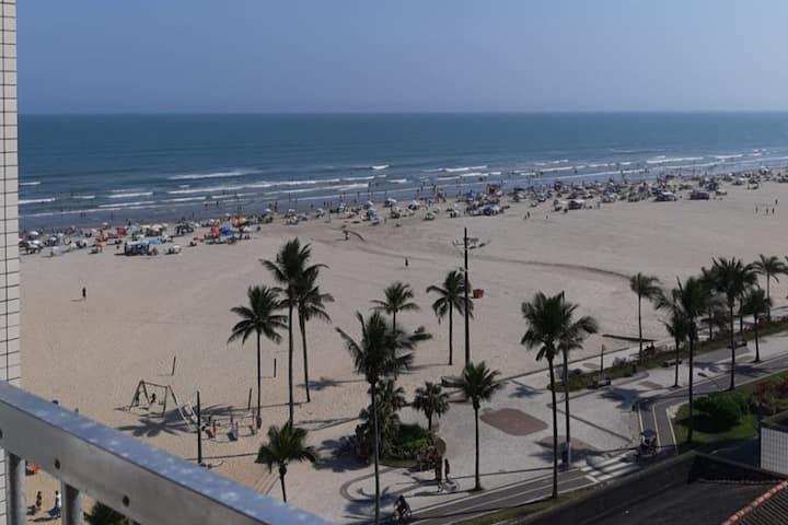Home Office com vista para a praia (Praia Grande)