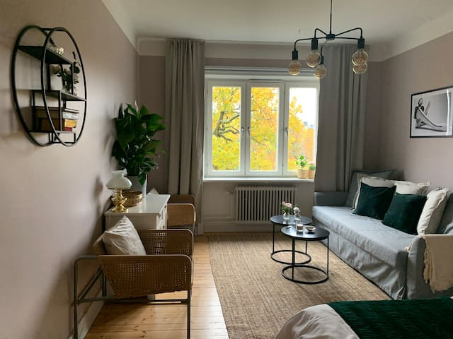 Stylish Flat close to Central Stockholm