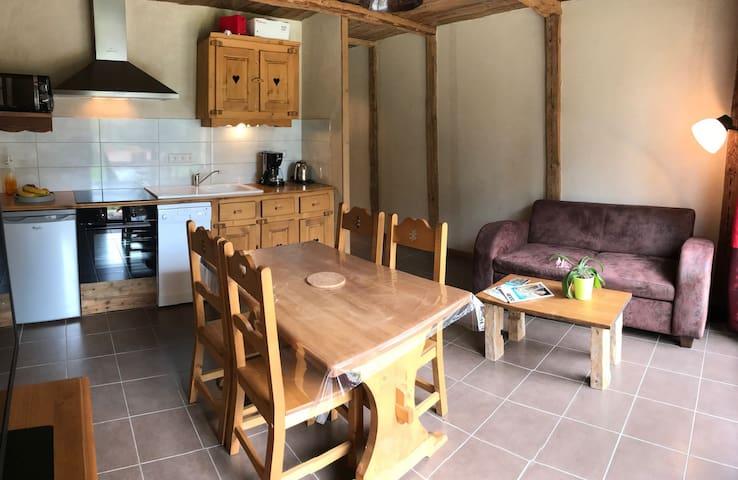 Appartement confortable dans le massif du jura