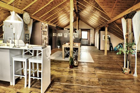WRITER's Amazing LOFT (150 sqm) - Hărman - Loft