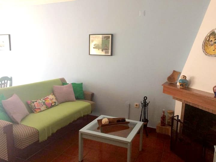 Apartment with one bedroom in Cercal, with wonderful city view, furnished balcony and WiFi