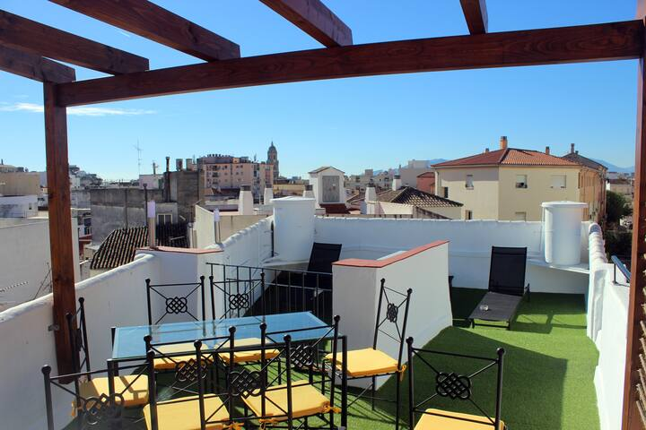 Na. Lovely and new apartment in the Centre - Málaga - Apartamento