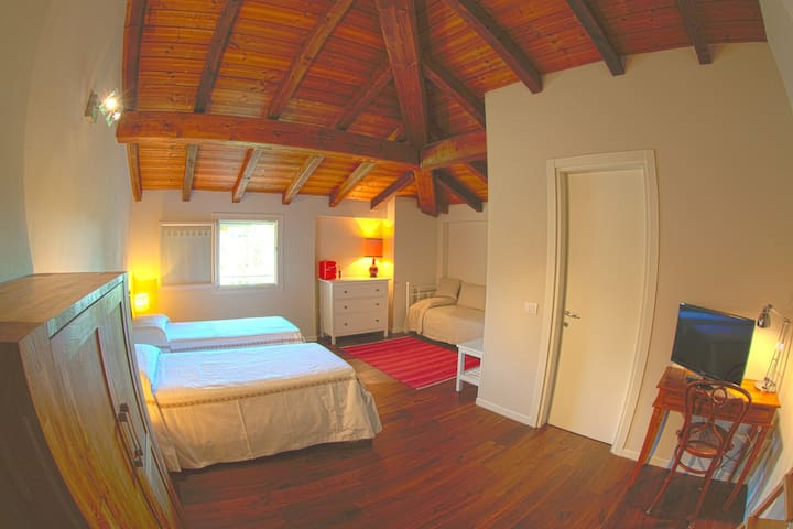 Double/Triple Room - Breakfast incl. - R&B - Calderara di Reno - 家庭式旅館