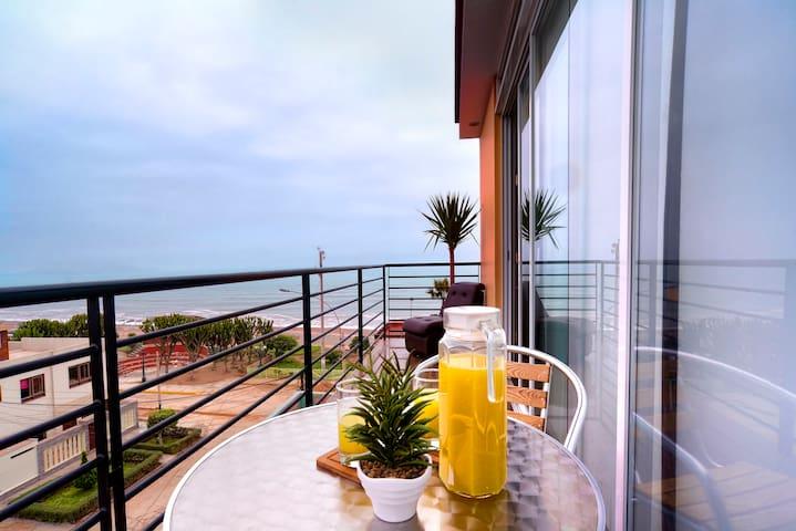Apto de 2 Dormitorios, Vista al Oceano Pacifico