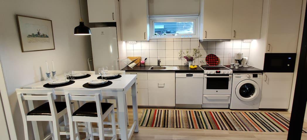 Gästhus i centrala Helsingborg
