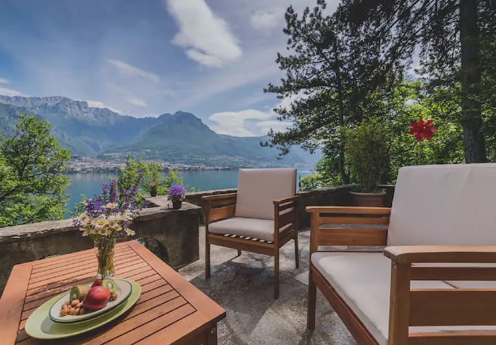 Villa 'Ca Verda my Bellagio' with Lake View, Wi-Fi, Terrace & Garden; Parking Available