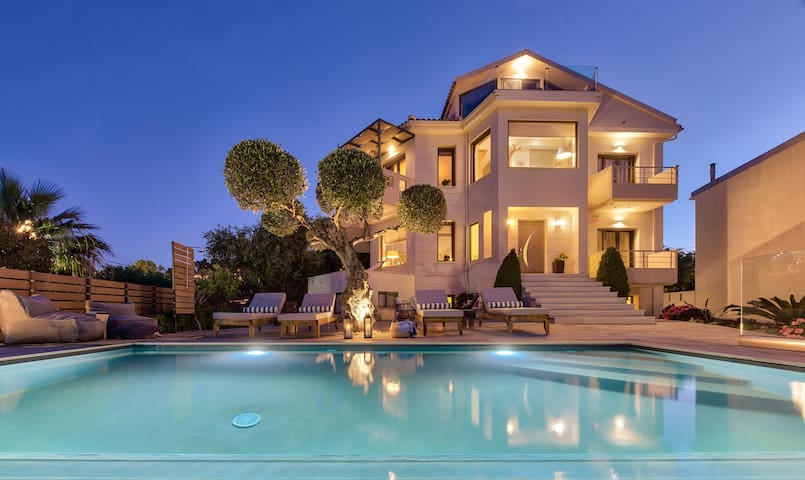 Elegant Sea-View Villa(Pasithea) with Private Pool