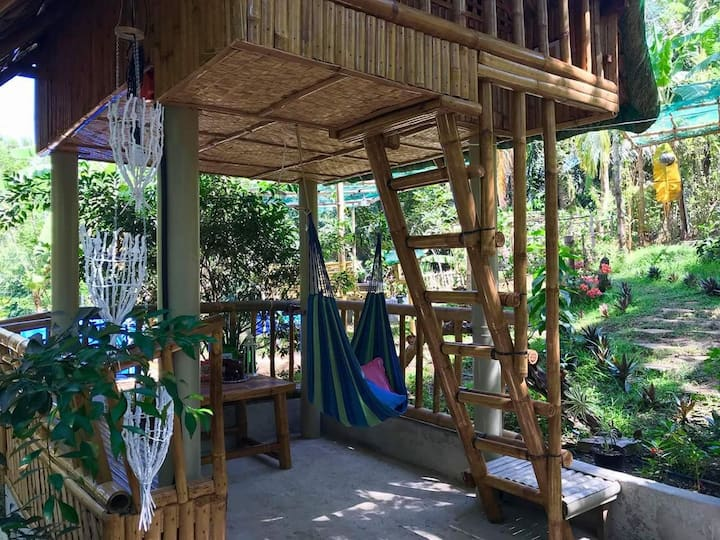 Zallags Glamping Garden Kubo#3 NatureFarmLife