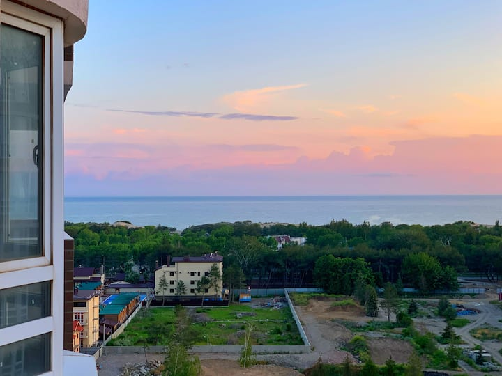 Экзотическая квартира у Моря