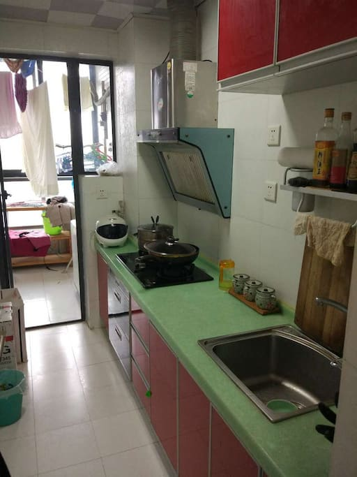 独立厨房、生活阳台