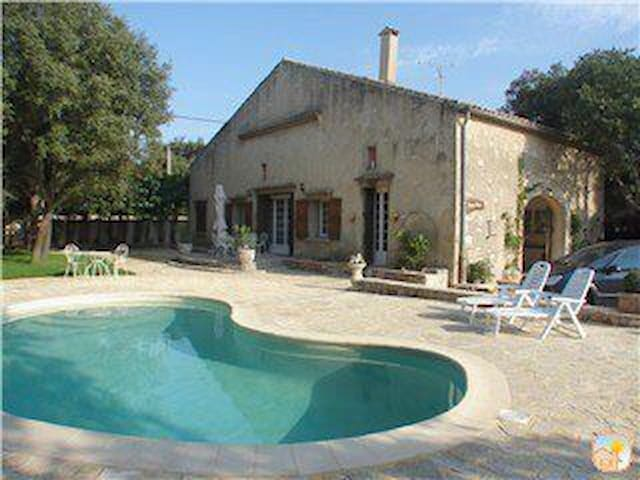 Magnificently Restored Stone 'Mas' (Farmhouse) - Cournonsec - Casa