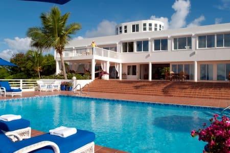 7 bd, waterfront, views, pool - Anguilla - Villa