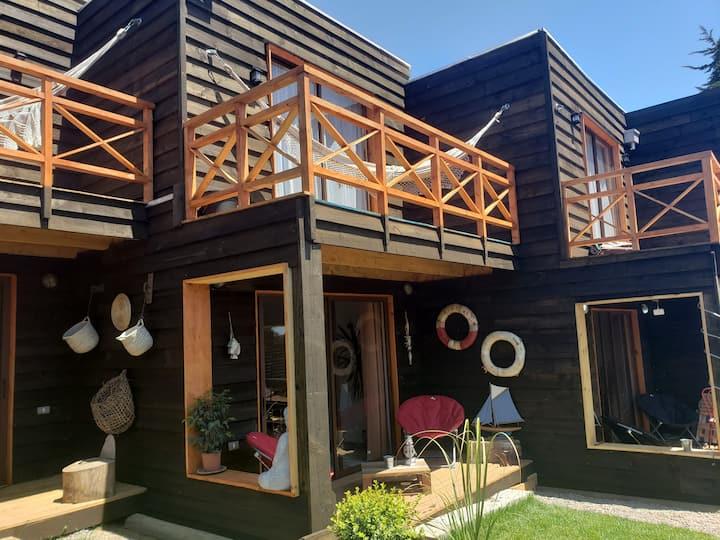 Acantilados de Quiriyuca Loft y Cabañas. Cabaña 3