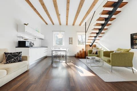 Unique Mini Duplex Apartment