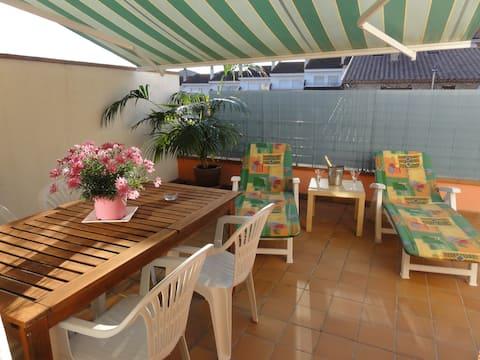 Beautiful apartament Costa Brava, Wifi, AirCond