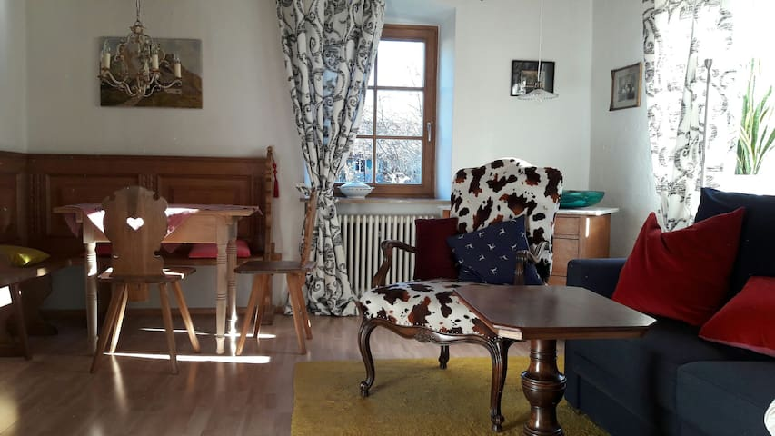 Charming big apartement - Oberammergau - Apartmen