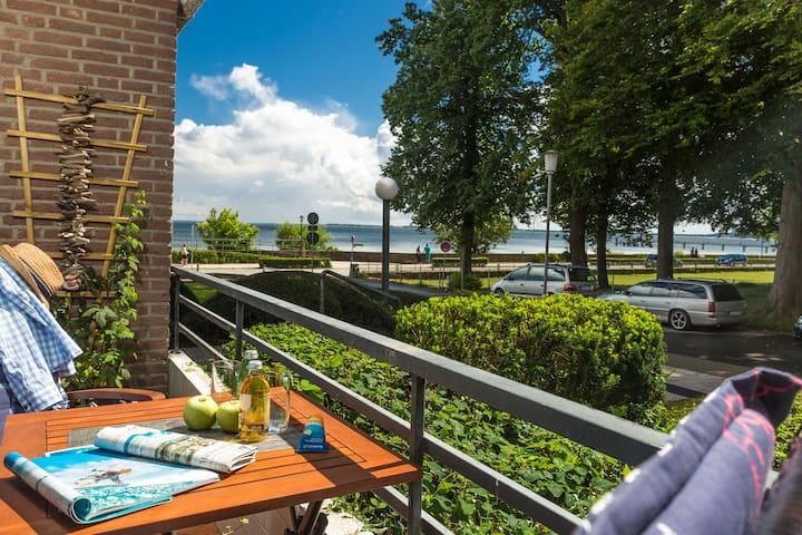 Ferienwohnung Meerblick mit eigener Sauna - Scharbeutz - Apartemen
