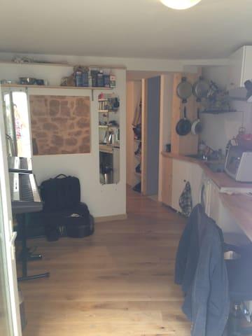 Studio avec terrasse au coeur de Belleville