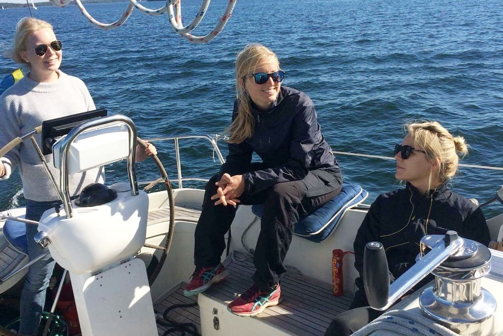 Sailing with skipper for 4000kr/day
