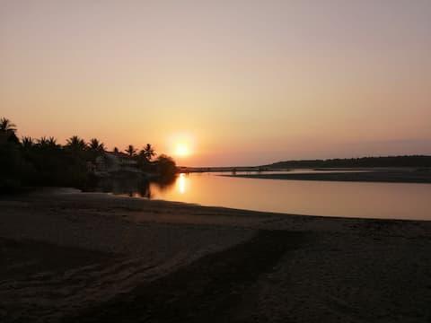 Rancho Las olas en la preciosa Bocana de San Juan!